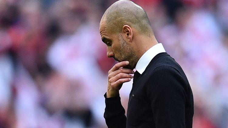 Pep Guardiola, l'entraîneur de Manchester City