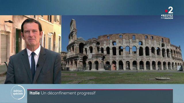 Italie : le déconfinement progressif se poursuit