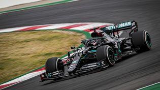 Lewis Hamilton (Mercedes) durant le Grand Prix du Portugal 2020, sur le circuit de Portimão, le 25 octobre 2020 (PAULO MARIA / DPPI MEDIA)