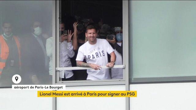 Les détails de l'arrivée de Lionel Messi au PSG