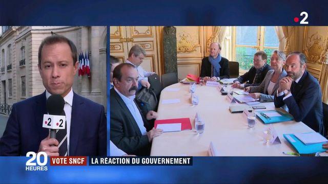 SNCF : le réaction du gouvernement face à l'annonce d'un vote des cheminots