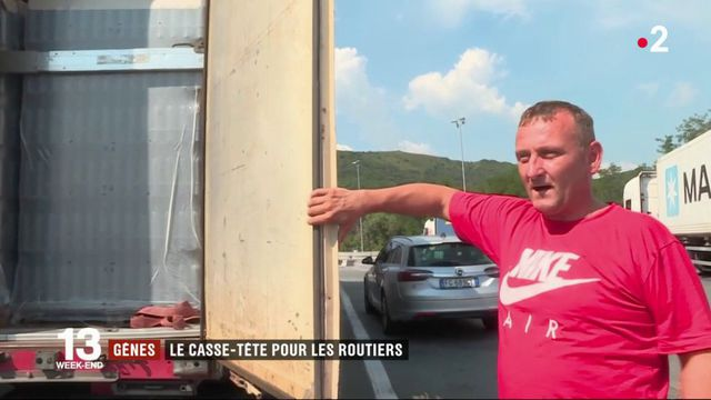 Gênes : le casse-tête des routiers