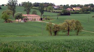 Le conseil général du Gers, pionnier de la lutte anti-OGM, promeut le tourisme vert et la production agricole bio (AFP - Pascal PAVANI)