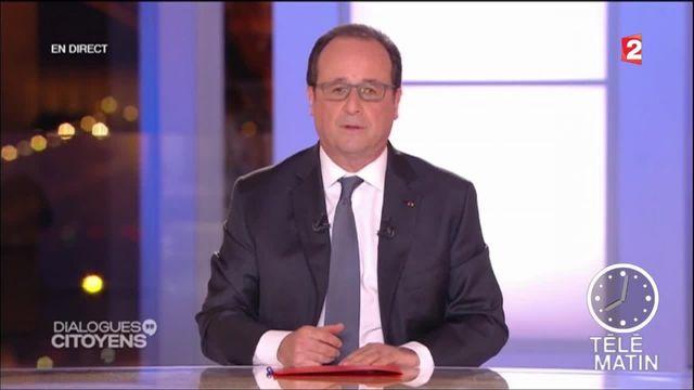 François Hollande : son grand oral devant les Français