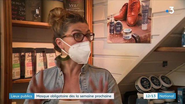 Lieux publics : les masques obilagtoires la semaine prochaine