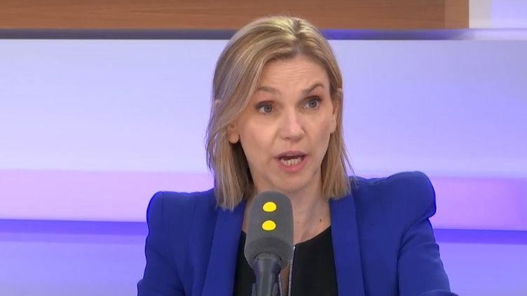 Agnès Pannier-Runacher, secrétaire d'Etat à l'Economie. (RADIO FRANCE)