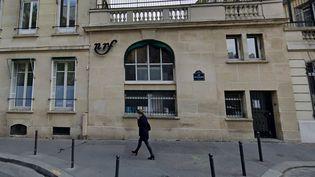 Les locaux de Gallimard et de la NRF, 5 rue Gaston-Gallimard à Paris. (GOOGLE STREET VIEW)
