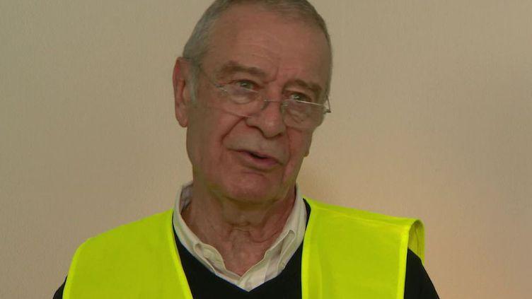 Le professeur Jean-Bernard Fourtillan, surFrance 3 Occitanie, fin novembre 2020. (FRANCE TELEVISIONS)
