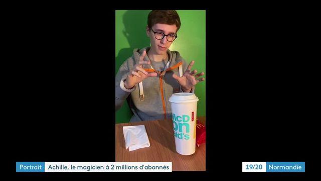 Sur TikTok, l'ascension à toute vitesse d'Achille Magic, un jeune magicien aux 2 millions d'abonnés