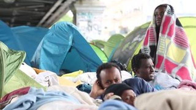 Le témoignage d'un migrant arrivé à Paris