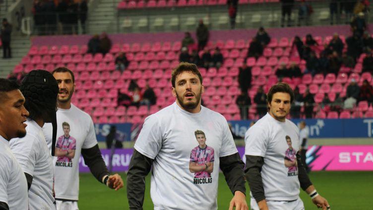 Le Stade Français a rendu hommage à Nicolas Chauvin