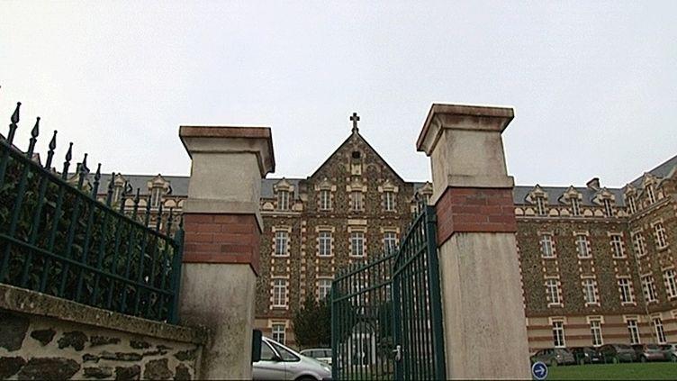 L'institut Saint-Lô est situé à Agneaux, dans la Manche. (FRANCE 3 BASSE-NORMANDIE)