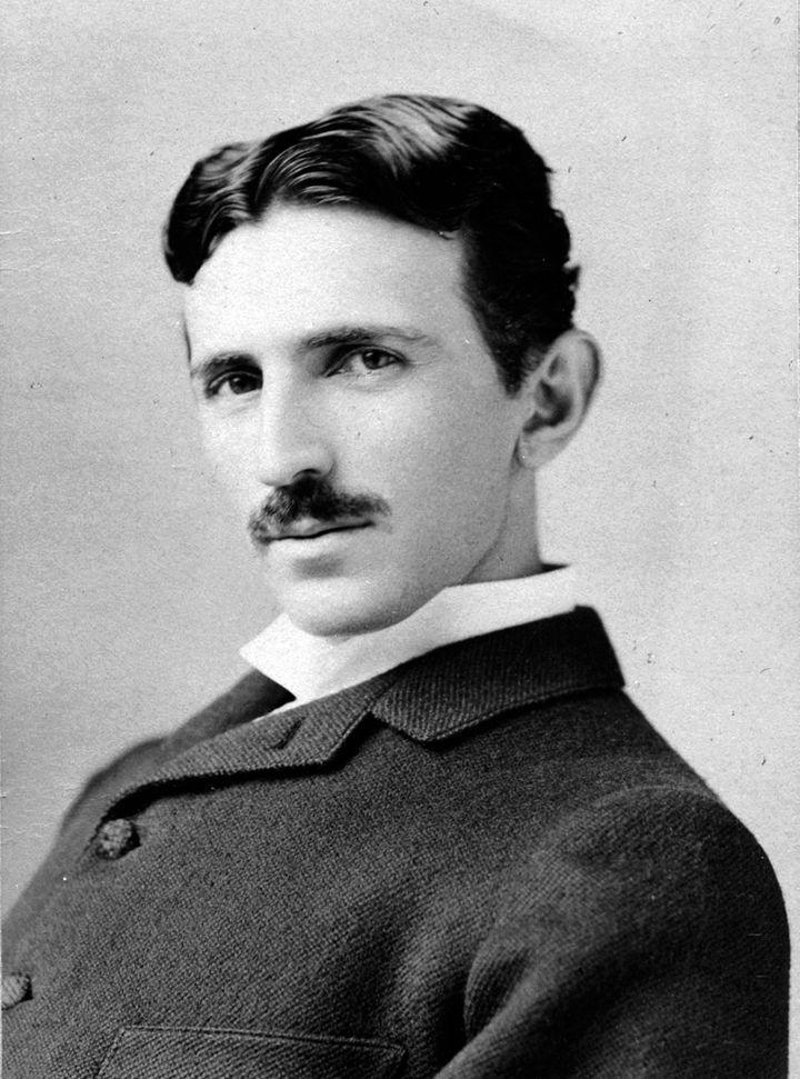 Portrait de Nikola Tesla  (Marc Seifer Archive)