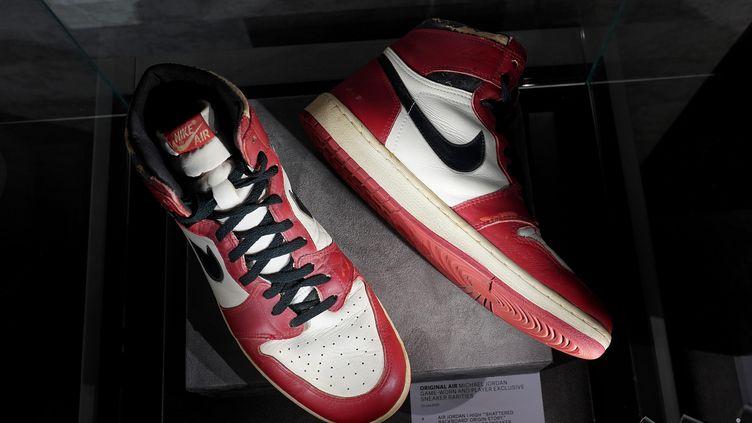 Air Jordan 1.  (TIMOTHY A. CLARY / AFP)