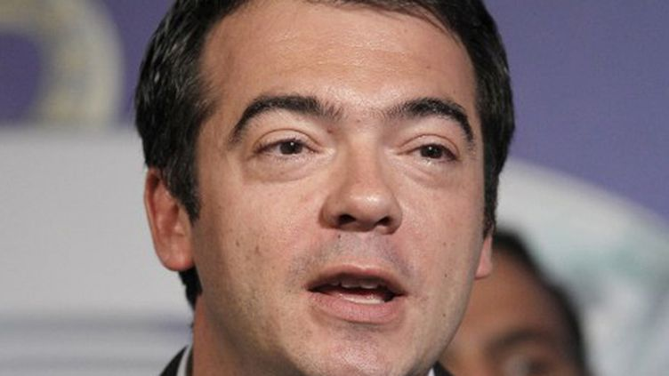 Le directeur général de L'Equipe Cyril Linette quitte l'Equipe. (PATRICK KOVARIK / AFP)