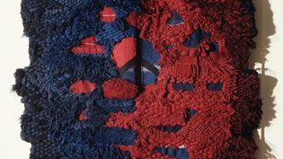 Josep Grau-Garriga (1929-2011), Signe y Materia, 195x165 cm, tissage atelier artiste, Barcelone, 1968, achat Denise Majorel, 1987. (Y. Sabourin)