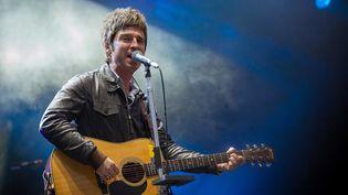 Noel Gallagher à Rock en Seine (25 août 2012)  (A. Gelebart/20 Minutes/SIPA)