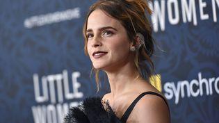 """L'actrice Emma Watson, lors de la première de """"Les filles du docteur March"""", à New York, en 2019. (ANTHONY BEHAR/SIPA USA/SIPA / SIPA USA)"""