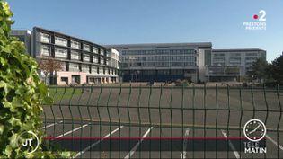 Un lycée à Caen. (France 2)
