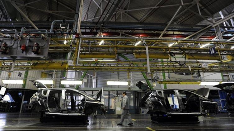 L'usine PSA de Sochaux dans le Doubs (AFP/SEBASTIEN BOZON)