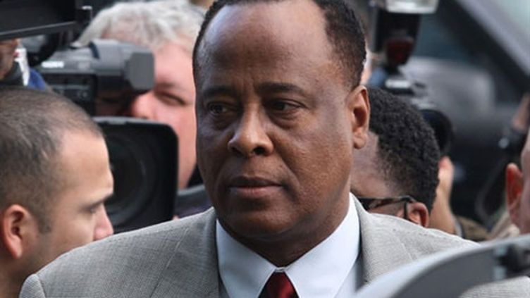 Dr. Conrad Murray à Los Angeles, le 8 février 2010. (AFP/Frederick M. Brown)