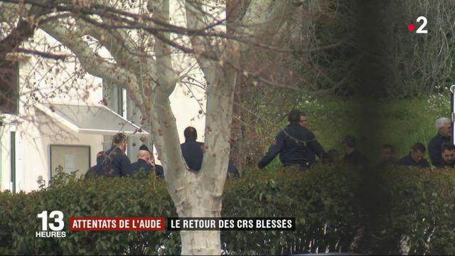 Attentats de l'Aude : le retour des CRS blessés