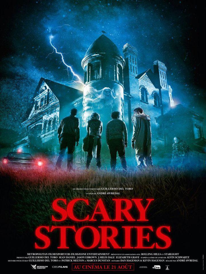 """L'affiche de """"Scaryè Stories"""" deAndré Øvredal. (METROPOLITAN FILMEXPORT)"""