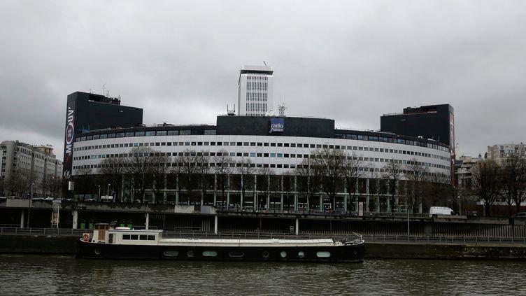 La Maison de la radio, le siège de Radio France, dans le 16e arrondissement de Paris, le 4 avril 2015. (MAXPPP)
