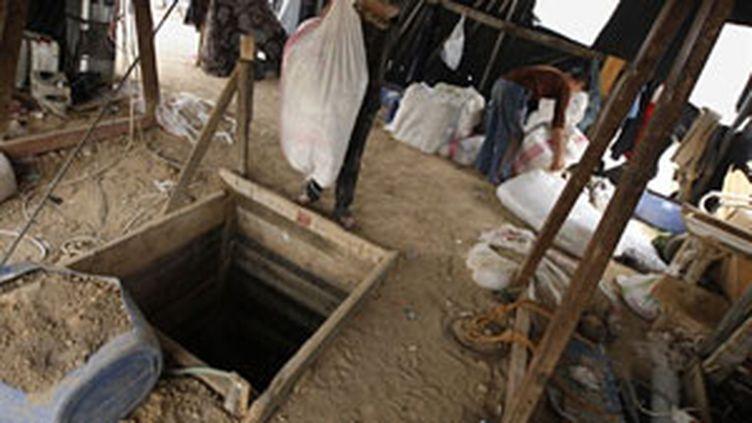 Un tunnel de contrebande à Gaza (AFP - Said Khatib)