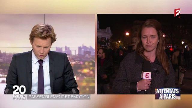 Attentats à Paris : plusieurs scènes de panique lors de rassemblements