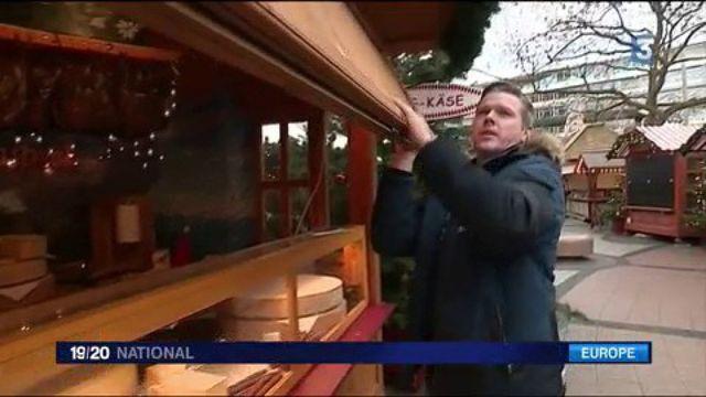 Attentat à Berlin : réouverture du marché de Noël attaqué