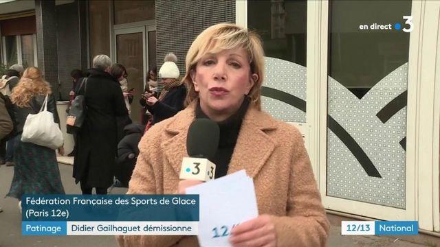 Violences sexuelles dans le patinage : démission de Didier Gailhaguet, président de la Fédération française des sports de glace