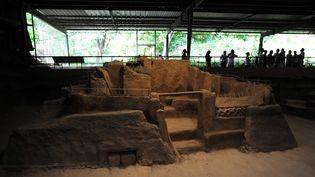 Site de Joya de Ceren, Salvador, en 2011  (Site de Joya de Ceren, Salvador, en 2011)