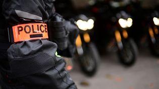 Cette opération a mobilisé 170 militaires de la gendarmerie, dont cinq équipes cynophiles dédiées à la recherche de stupéfiants, d'armes et de billets de banque. (MARTIN BUREAU / AFP)