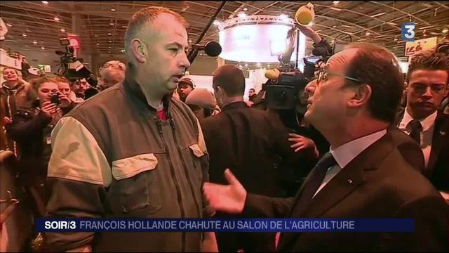 Salon de l'agriculture : une visite difficile pour François Hollande, hué par les éleveurs
