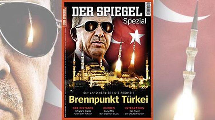La couverture du «Spiegel» qui ne plaît pas à Ankara. (DR)