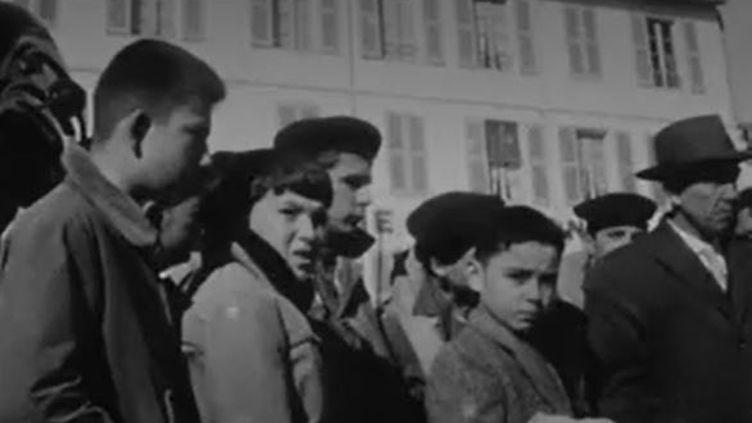 Rupture du barrage de Malpasset : soixante ans plus tard, un drame toujours dans les mémoires (CAPTURE D'ÉCRAN FRANCE 3)