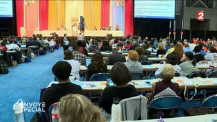 Convention fonds de pension (CAPTURE ECRAN FRANCE 2)