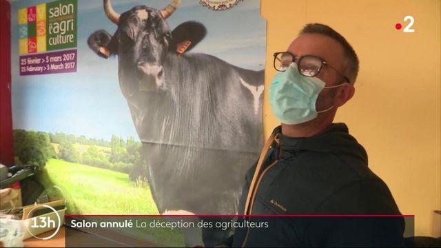 Salon de l'agriculture annulé : les agriculteurs s'inquiètent