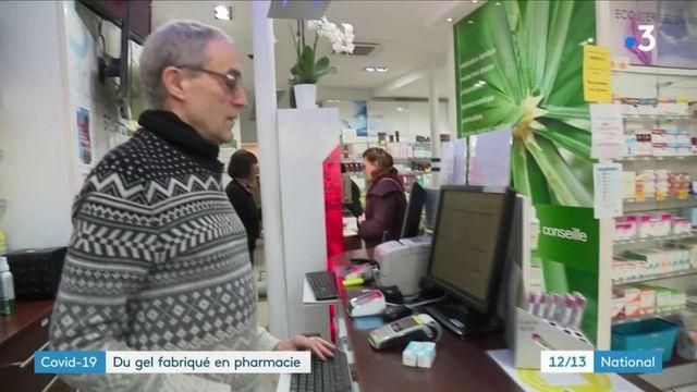 Covid-19 : les pharmaciens peuvent désormais fabriquer du gel hydroalcoolique