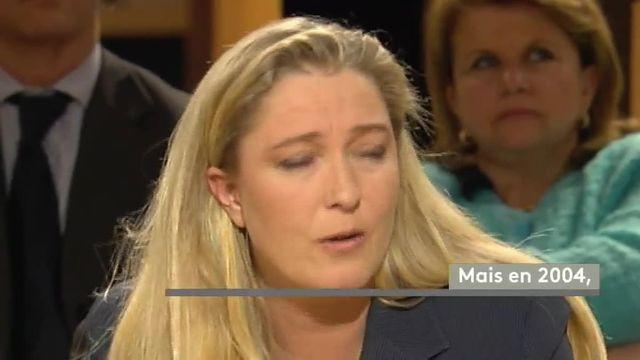 Quand Marine Le Pen réclamait plus de justice