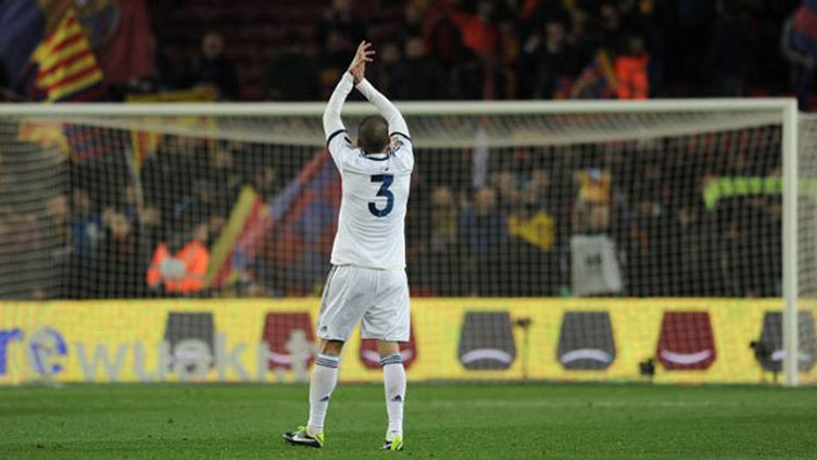 Le joueur du Real Madrid, Pepe