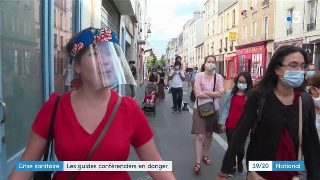 Crise sanitaire : les guides conférenciers en danger