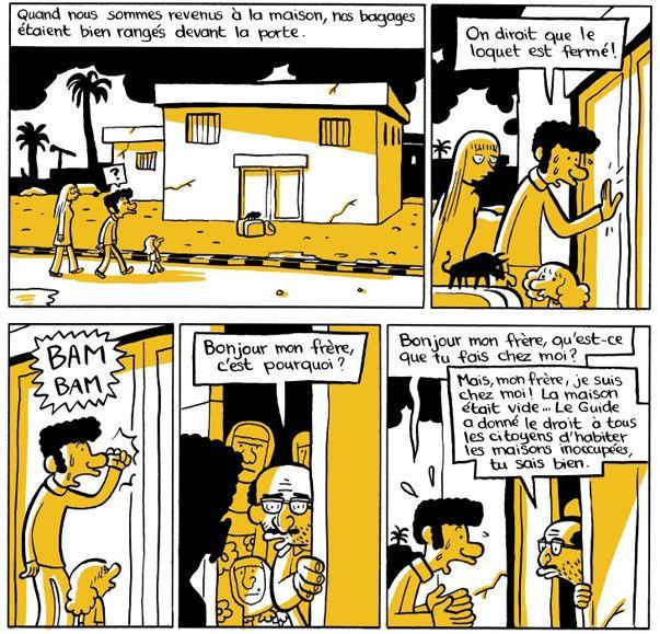 """""""L'arabe du futur"""" Libye  (Riad Sattouf / Allary)"""