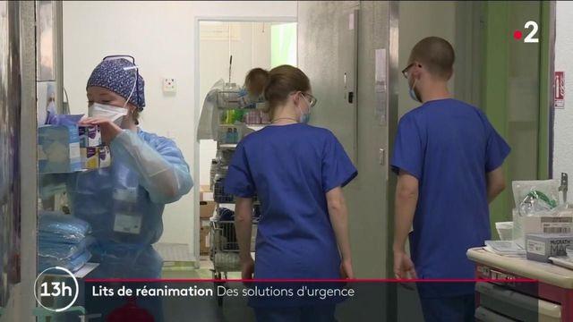 Covid-19 : les hôpitaux s'adaptent au manque de lits en réanimation
