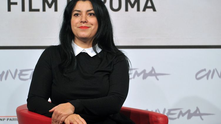 Marjane Satrapi en 2012. (TIZIANA FABI / AFP)