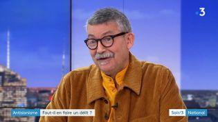 L'historien Dominique Vidal (France 3)
