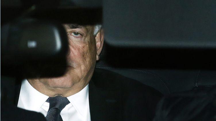 (Dominique Strauss-Kahn à son arrivée au tribunal de Lille lundi © Maxppp)