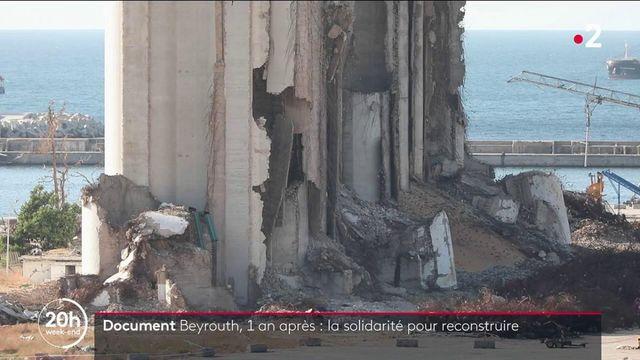 Incendies de Beyrouth : un an après l'explosion, les volontaires continuent de reconstruire