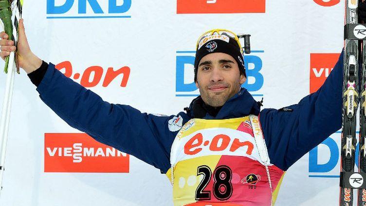 Martin Fourcade en argent sur le sprint des Mondiaux de Nove Mesto